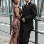 Chinese Couple on a Photo Shoot - Shanghai, China