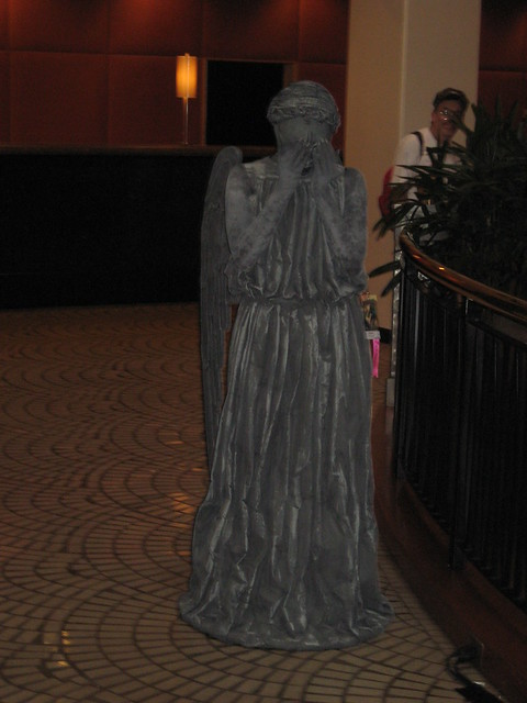 Weeping Angel (from the Doctor Who episode