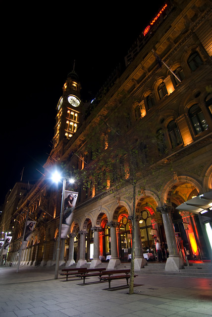 Sydney: Martin Place  By Night