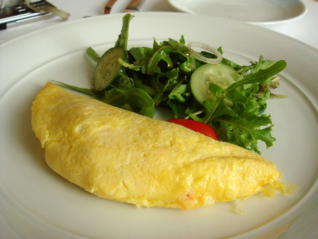 how to make ihop garden omelette