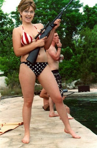 sarah-palin-bikini-gun | Flickr - Photo Sharing!