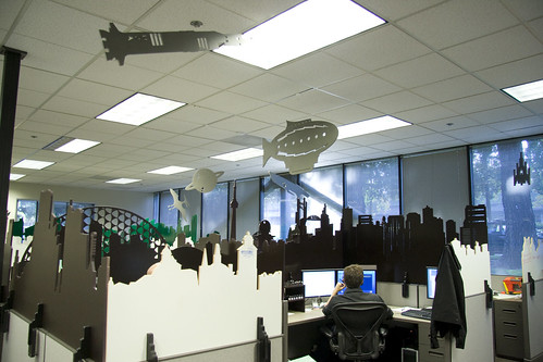 Fun Office Cubes Because We Can