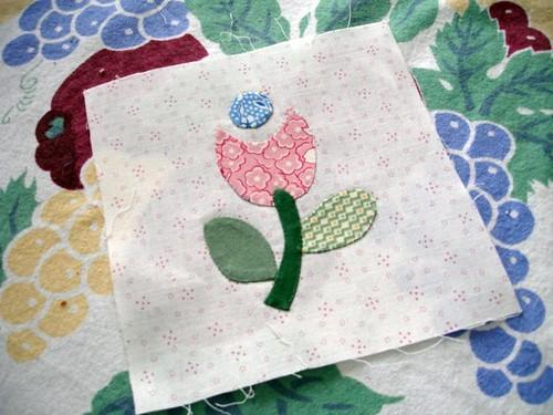 Sentimental stitches back basting tutorial for hand applique
