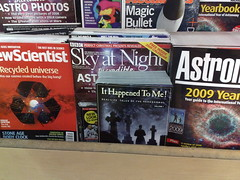 "The ""Science"" Section in Borders Oxford Street"