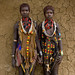 Hamar friends Omo valley Ethiopia