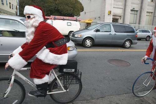 Santas on 16th St