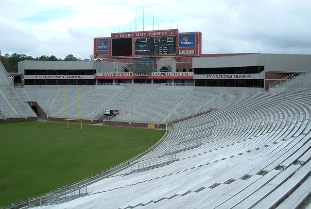 FSU's Football Stadium | Flickr - Photo Sharing! Fsu Football Stadium