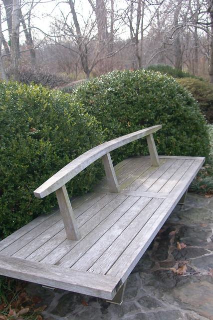 Bench In Japanese Garden Flickr Photo Sharing