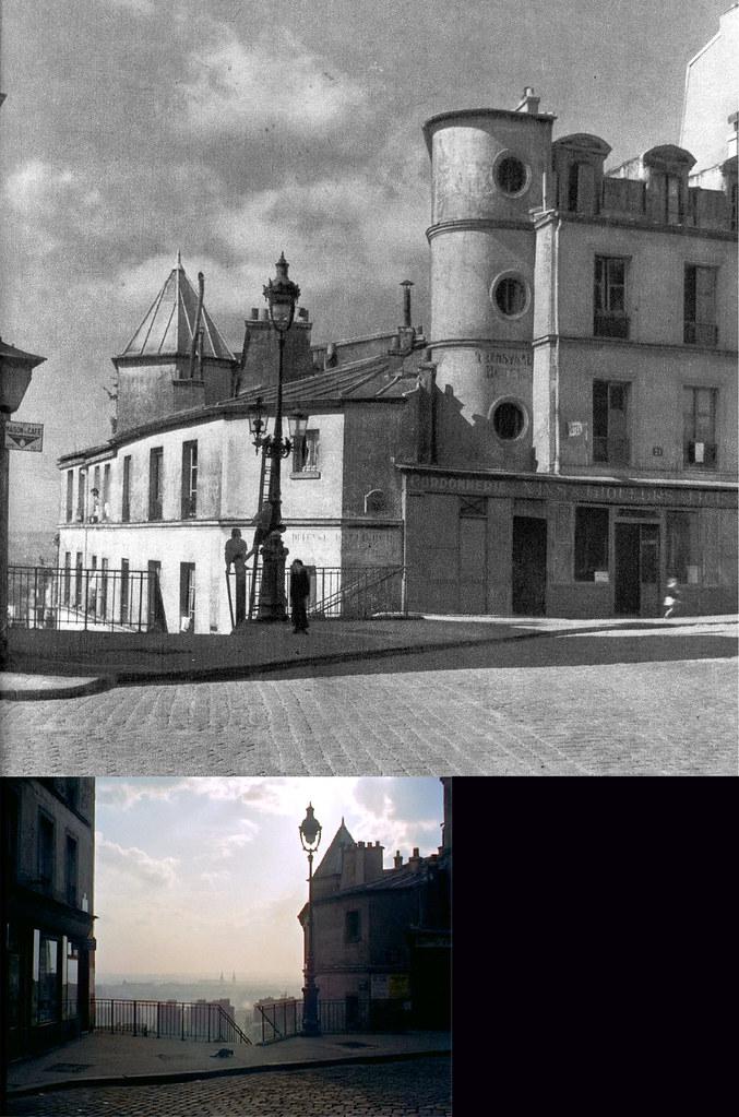 Rue Piat 1946-1956