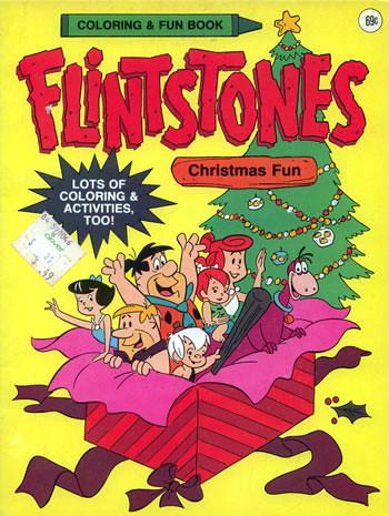flintstones christmas coloring pages - photo#44