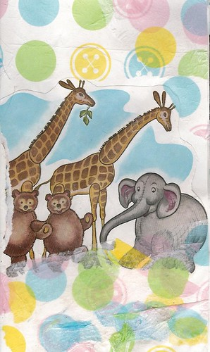 Giraffes, Elephant and Teddy Bears