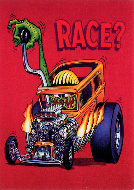 Rat Fink Ed Big Daddy Roth - Race
