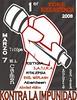 afiche 1er toke rocksistencia popayan marzo 2008
