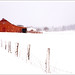 Barn in the Snow by [Christine]