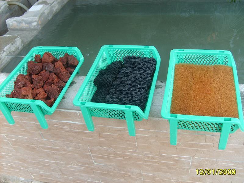 Ver tema filtro humedo seco para mi for Filtro casero para estanque