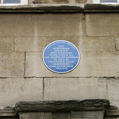 Photo of Frederick John Horniman and The Horniman Museum blue plaque