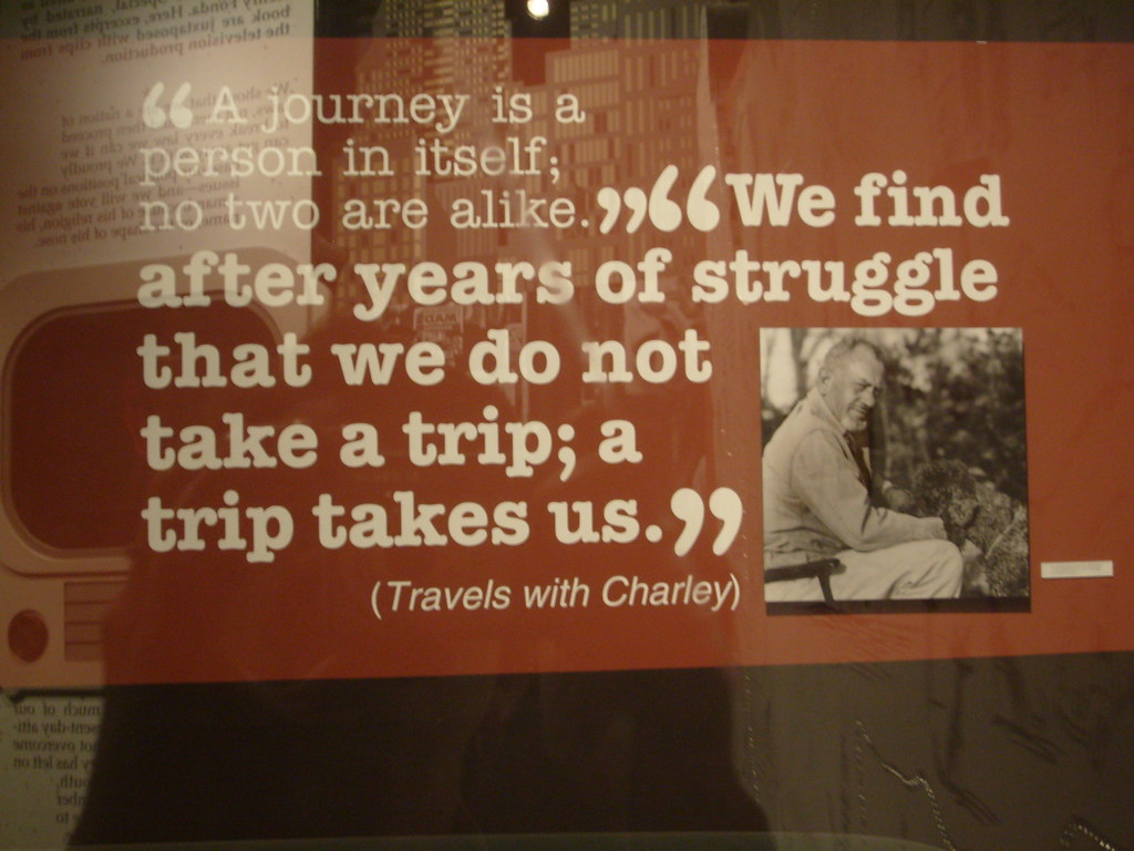 "Steinbeck - ""Travels with Charley"""