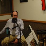 James Taylor in WFUV's Studio A