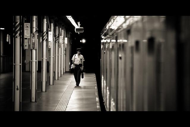Horizontals: Ueno station