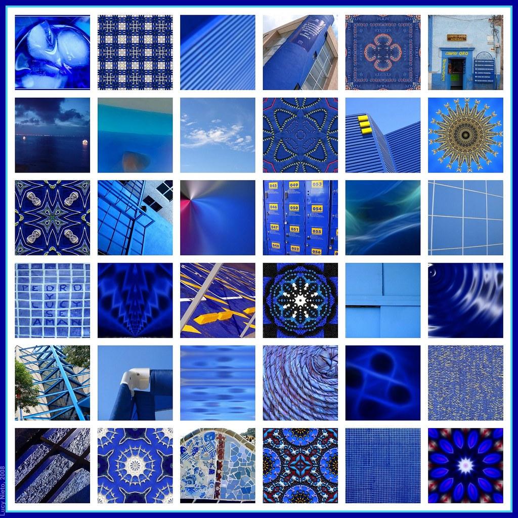Mosaico Azul - México 2008