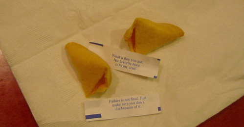 20071021 - Grandma's birthday - 140-4068 - weird fortune cookies