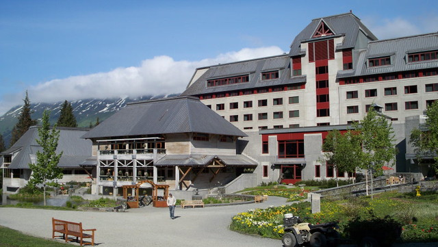 Header of Alyeska Resort