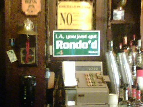 you got rondo'd