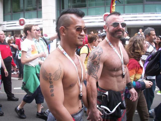 gay pride july 2008
