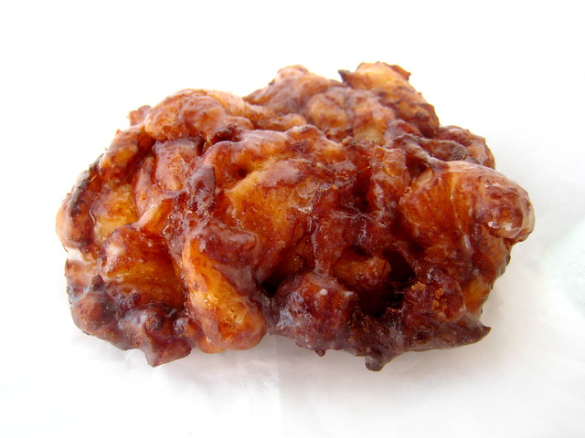 Apple Fritters Using Cake Mix