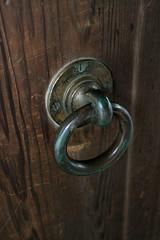 wood, metal, door knocker, iron,