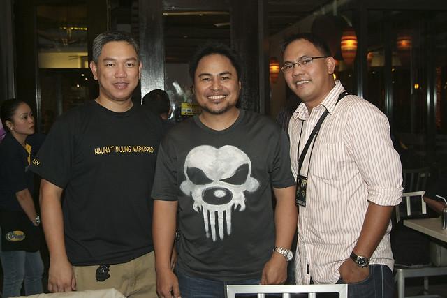 Pugad Dencio's Managing Director Germin G. Espino/Pol Medina Jr./Pugad