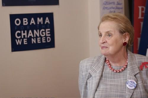 Madeleine Albright at Geroge Mason University