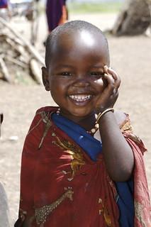 Masai child #3