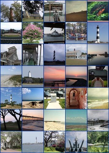 """Coastal North Carolina Lighthouses and More"" 6 Day Tour by scott185 (the original)"