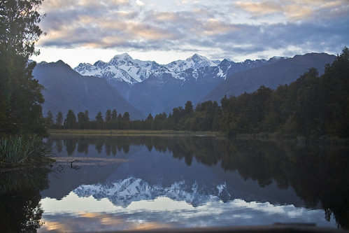 Lake Matheson - South Westland, NZ