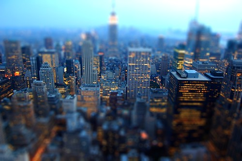Tilt-Shift Manhattan