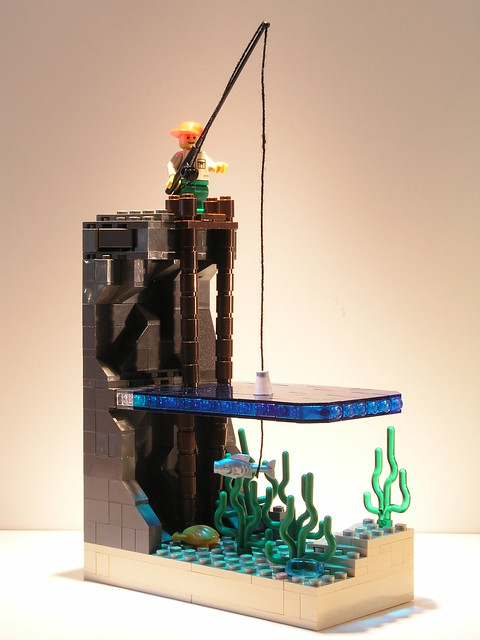lego underwater creations