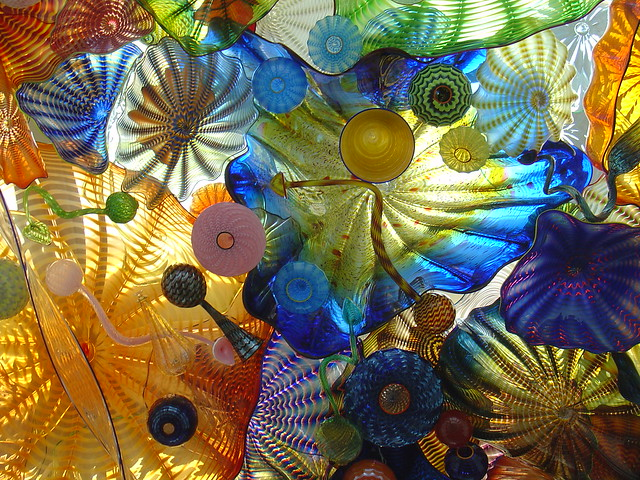 Chihuly glass bridge of tacoma to the