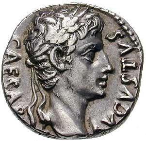 Caesar Augustus coin