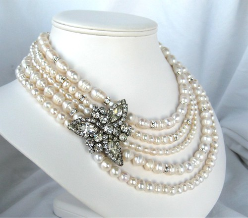 Custom Bridal Necklace