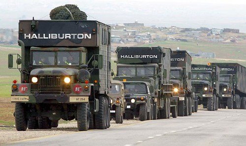 US Army or Halliburton..?