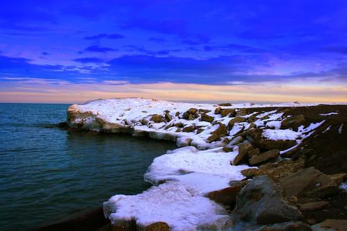Winter Evening  !