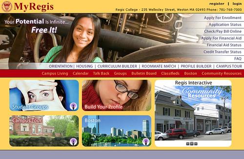 Regis College Portal