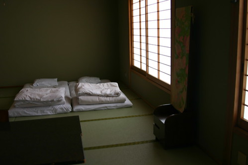 Our ryokan room in Kyoto