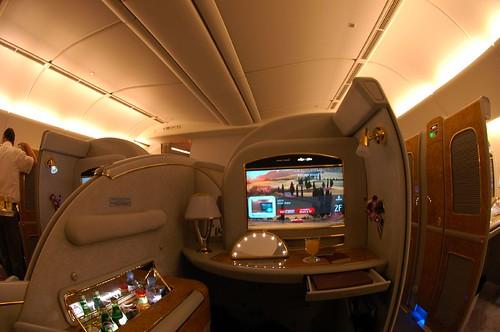 Emirates B777-200LR First suite