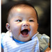 Ticklish baby