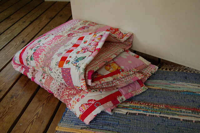 Making a quilt – adding the edge and finishing