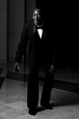 white, man, monochrome photography, fashion, standing, monochrome, darkness, black-and-white, shadow, black, gentleman,