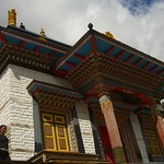 Buddhist Temple in Upper Pisang - Annapurna Circuit, Nepal