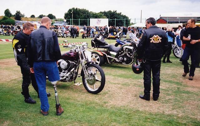 Peg-Leg Biker, Barnsley Custom & Classic Bike Show